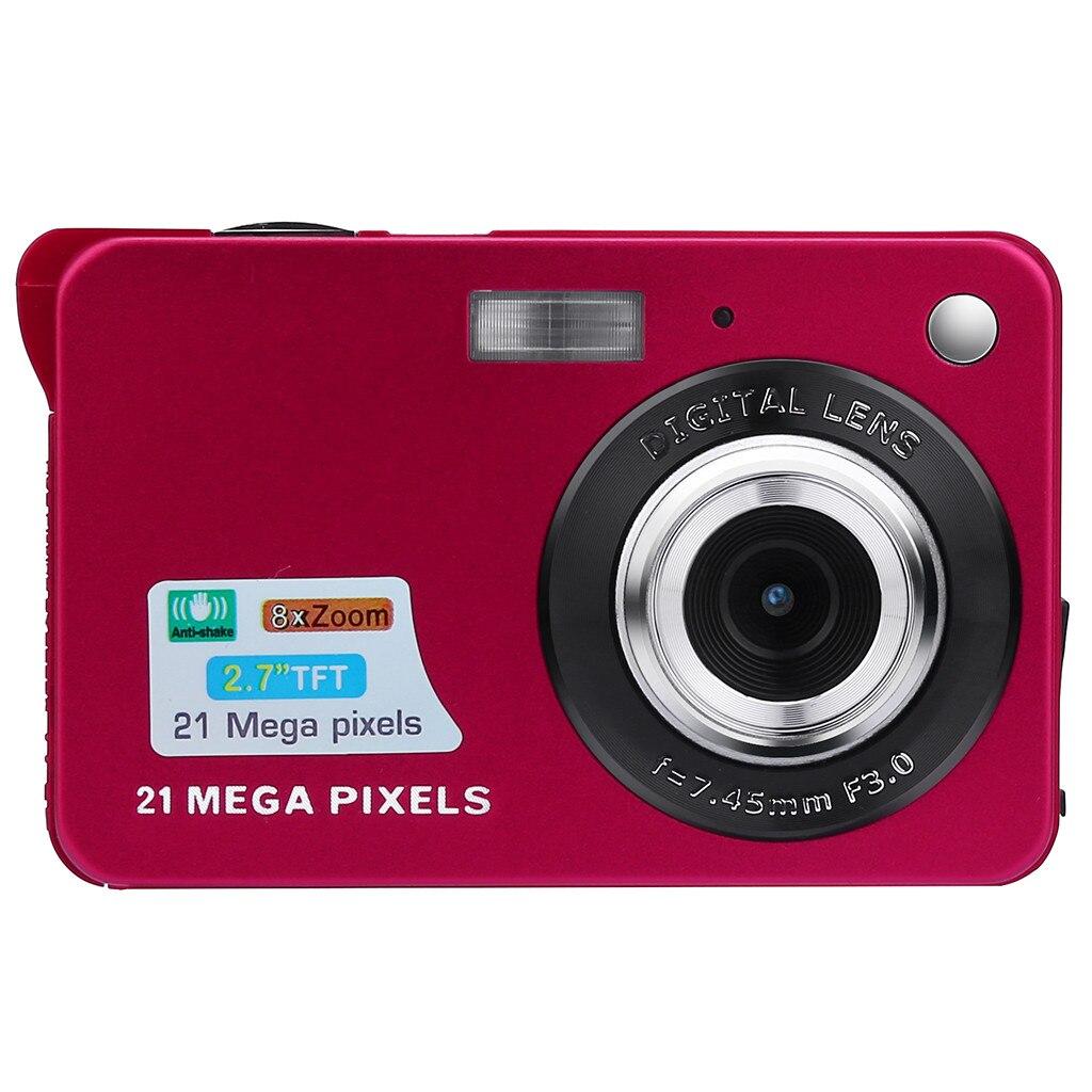 Appareil photo numérique 2019 2.7HD écran appareil photo numérique 21MP Anti-secousse caméra de détection de visage noir blanc c0524