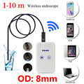 WIFI Endoscope Waterproof Borescope Inspection Camera LED USB for Andriod for  Iphone Snake Inspection Camera N1212