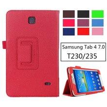 Popular Samsung Galaxy Tab 4 T230 Flip Covers-Buy Cheap