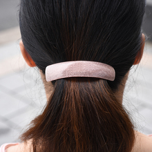 Korean women hair accessories simple styling vintage barrettes cute clip for