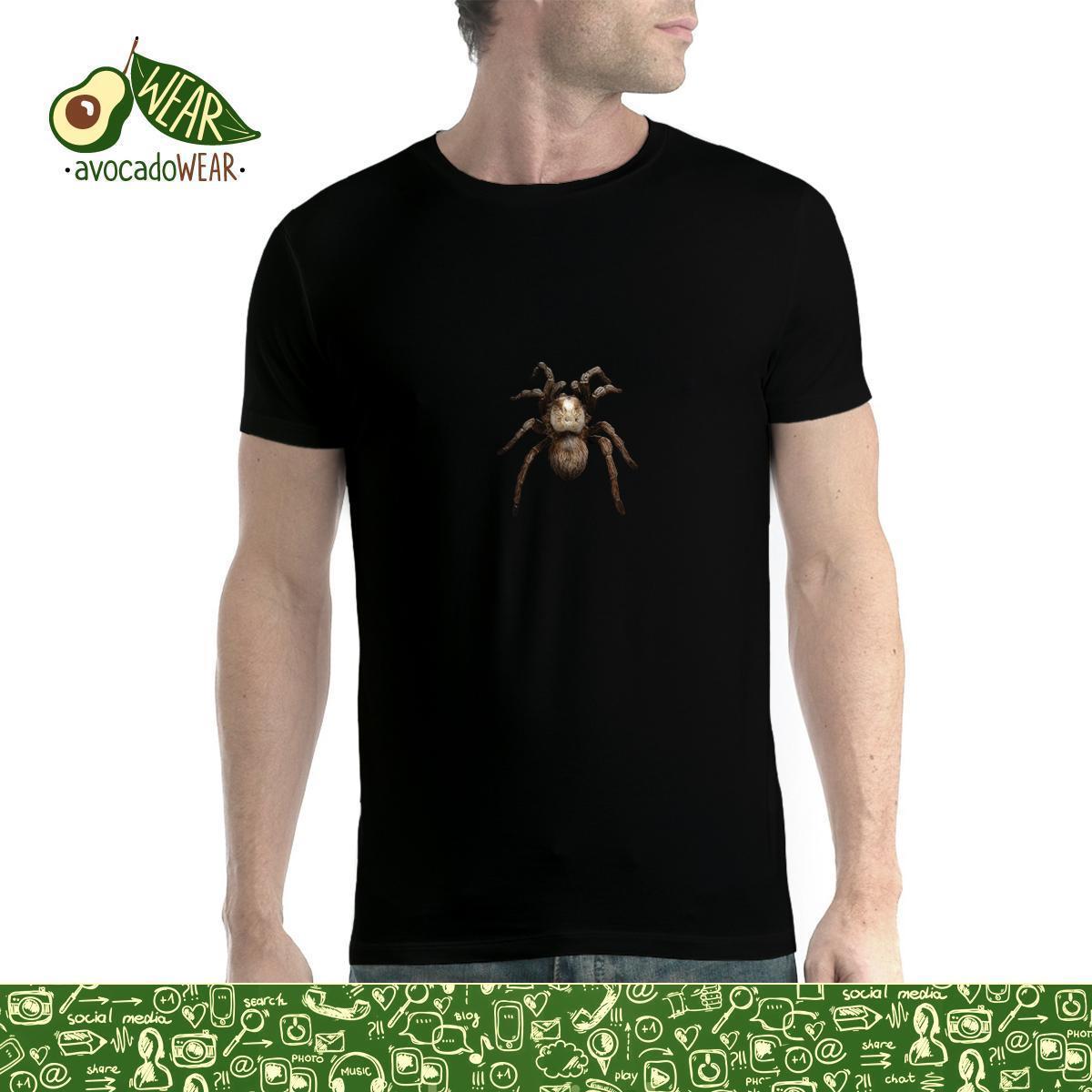 Hartig Tarantula Spider 3d Mannen T-shirt Xs-5xl Newstreetwear Grappige Print Kleding Hip-tope Mans T-shirt Tops Tees Hot Koop Mannen T-shirt Om Het Lichaamsgewicht Te Verminderen En Het Leven Te Verlengen