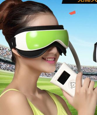 Health Care Massage Relaxation Magnetic Alleviate Fatigue Eye Care Relax Massager Eye Protection Instrument Nurses With Music free shipping new air pressure eye massager with mp3 6 functions dispel eye bags eye magnetic far infrared heating eye care