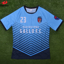Multicolor soccer t-shirt,,fully sublimation custom soccer jersey