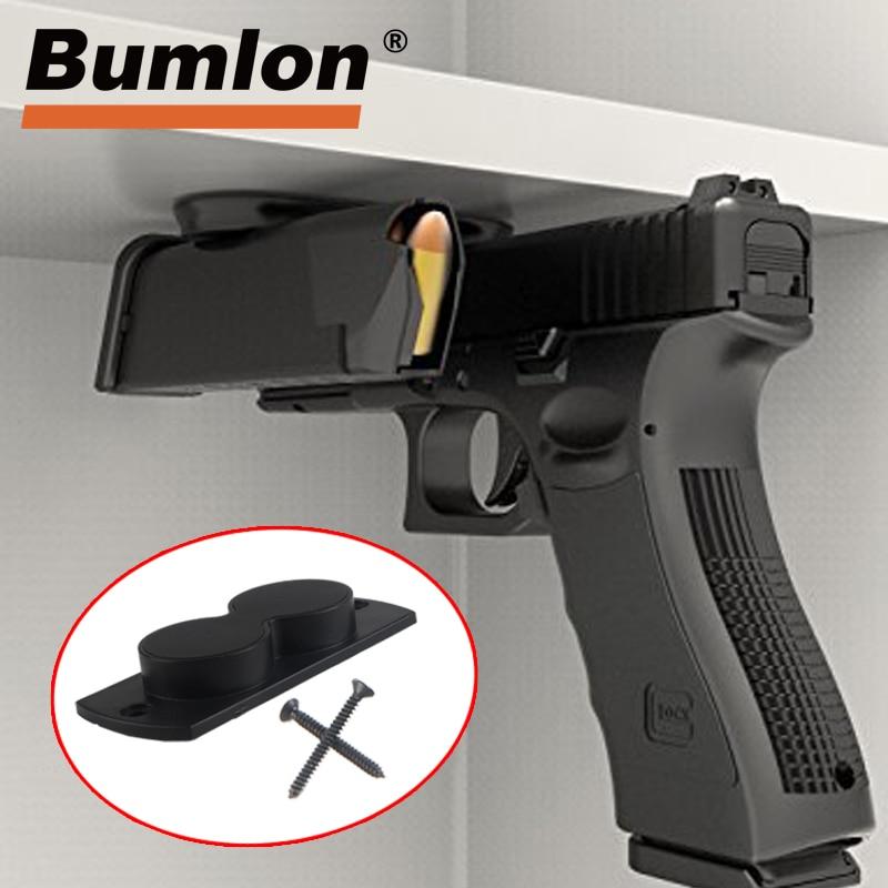 Vehicle Holster Magnet Concealed Gun//Pistol Magnetic Holder Car//Under Desk Mount