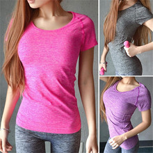 Women Fitness Sports T-Shirt