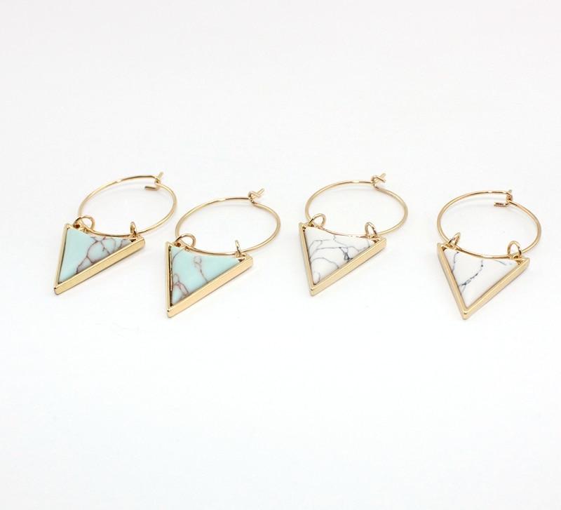 Բոհեմիա եզակի շրջապատող եռանկյունի - Նորաձև զարդեր - Լուսանկար 4