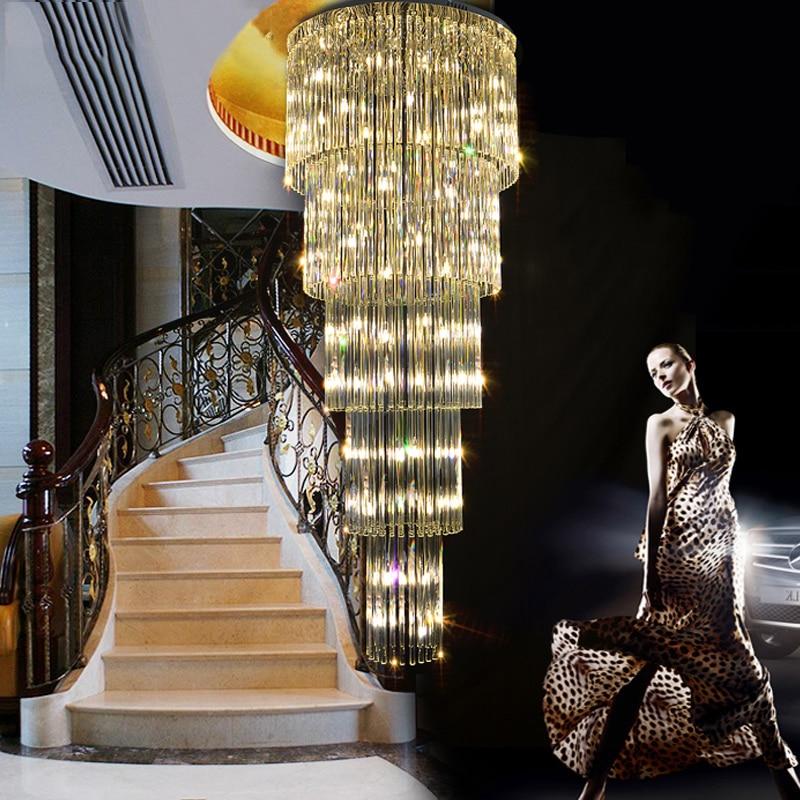 Kristalni luster LED Moderni lusteri za rasvjetu Rasvjetno kućište - Unutarnja rasvjeta - Foto 2