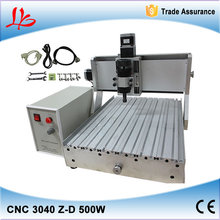 Russia free tax 3 axis CNC Router LY 3040Z D500W Engraving Machine cnc milling machine