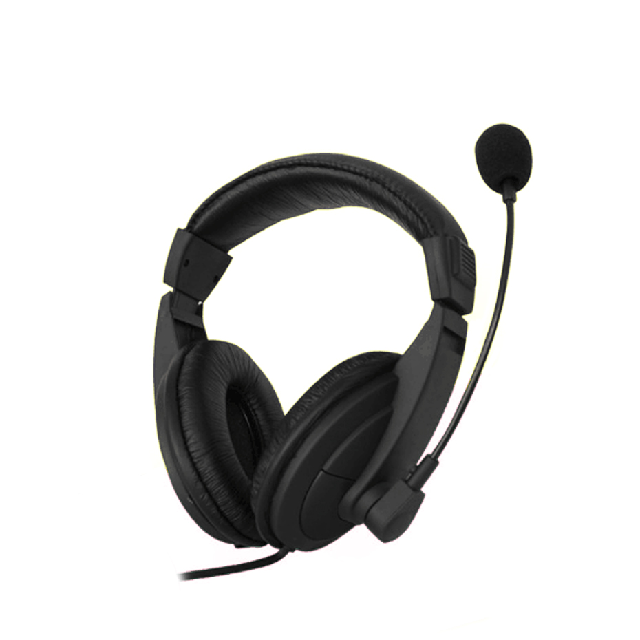 Headphone for Computer as a phone Wired Earphone for phone stereo mic Gaming Headset PC Wired Earphones with Microphone for PC
