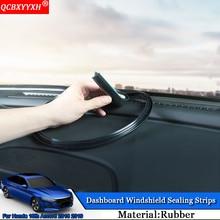 QCBXYYXH автомобиль-Стайлинг резиновые анти-Шум Звукоизолированные пыле приборной панели автомобиля Лобовое стекло щеточное для Honda Accord 2013- 2018