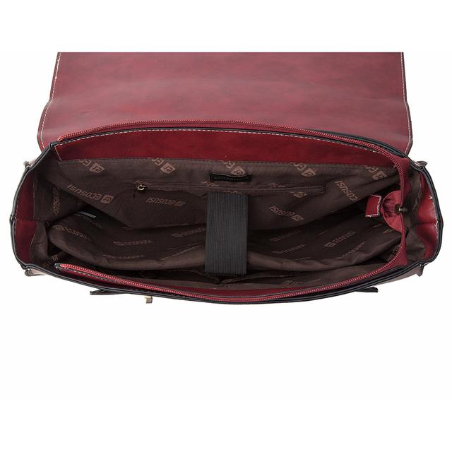 2016 New Fashion Women PU Leather Handbag High Quality Retro Women Messenger Bags Famous Designer Leather Briefcase Shoulder Bag