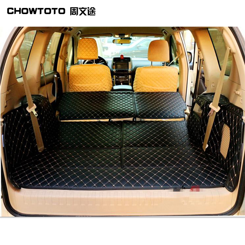 CHOWTOTO AA Custom Special Trunk Mats For Lexus GX 7seats Waterproof Easy To Clean Carpets For GX 7 Seats Lagguge Pad