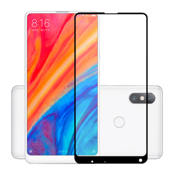 75 Pcs/Lot 2.5D Premium Tempered Glass for Xiaomi MI Mix 2S Full Coverage Screen Protector Protective Film for Xiaomi Mix 2S