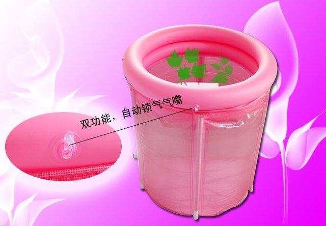 Vasca Da Bagno Plastica Portatile : Pieghevole vasca da bagno portatile plastica spa vasca da bagno