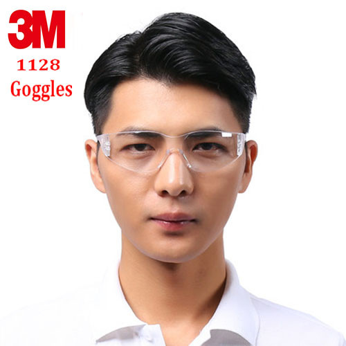 3M 11228 Goggles Genuine Security 3M Protective Glasses Wind And Dust Economic Section Transparent Safety Glasses