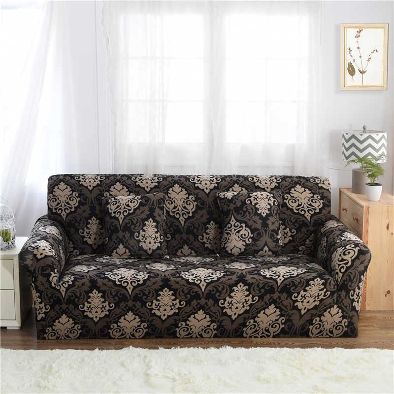 Us 36 22 Three Seater Sofa Covers For Chair Knitting Slipcover Elastic Sofa Furniture Covers For Armchairs Universal Seat Couch Cover In Sofa Cover