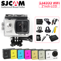 SJCAM SJ4000 Series SJCAM SJ4000 WiFi SJCAM Helmet Action Sports DV Camera 1080p 30M Waterproof Camcorder