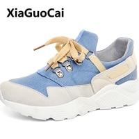 New Spring Autumn Women shoes female Korean student Harajuku style Breathable Damping Comfortable balance Women Flat Shoes