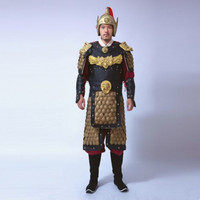 ancient chinese soldier costume ancient chinese armor costume for men historical general costumes ancient dynasty cosplay