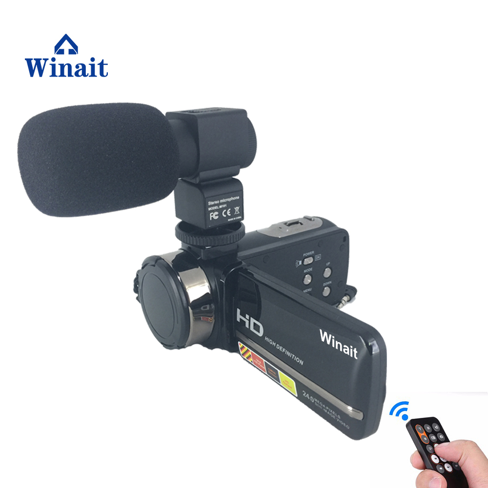 Winait 24 Mega Pixels Digital Video Camera, Night Vision Mini DV Camera with Microphone free shipping цена