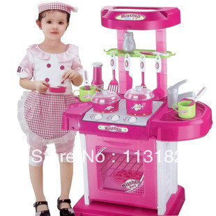 115 magicaf kitchen set portable toy combination