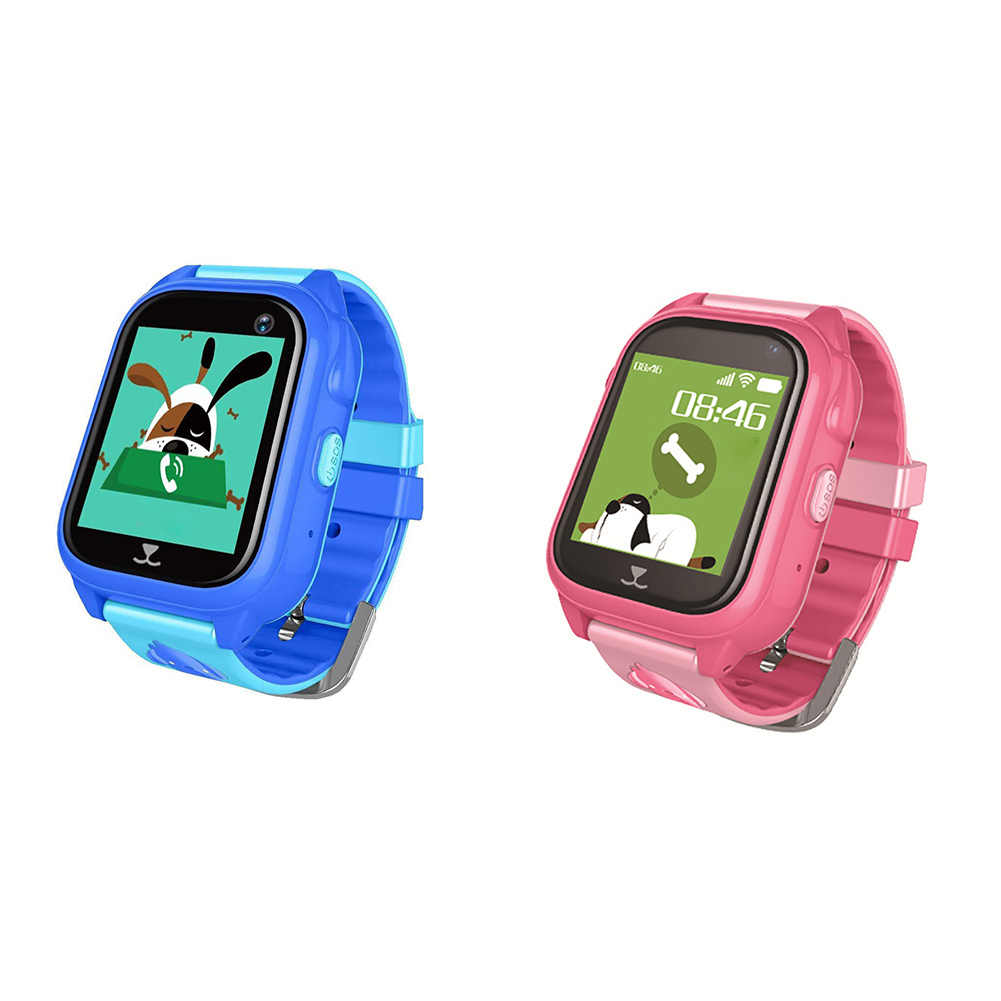 Kids Gift Smart Watch GPS Tracker Anti-lost Silicone For IOS Android Position Location SOS Call IP67 Waterproof Multifunction