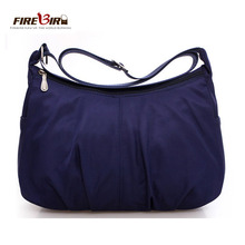 цена на Waterproof Nylon Women Messenger Bags Casual Clutch Carteira Vintage Hobos Ladies Handbag Female Crossbody Shoulder Bags Z303