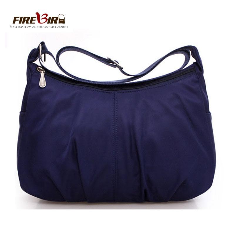 Waterproof Nylon Women Messenger Bags Casual Clutch Carteira Vintage Hobos Ladies Handbag Female Crossbody Shoulder Bags Z303