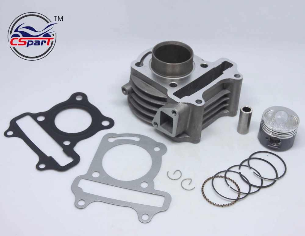 39 MM Cylinder Ring Piston Gasket Kit GY6 50CC Jonway Jmstar Yiying Wangye Baotian Cerah Parts Keeway Scooter