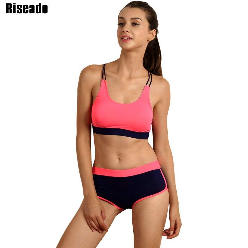 Riseado ביקיני 2019 בגדי ים נשים ספורט - בגדי ספורט ואביזרים