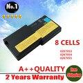 8 células bateria do portátil 02K7058 02K7059 02K7060 02K7061 FRU 02K7057 para LENOVO Thinkpad R40 frete grátis