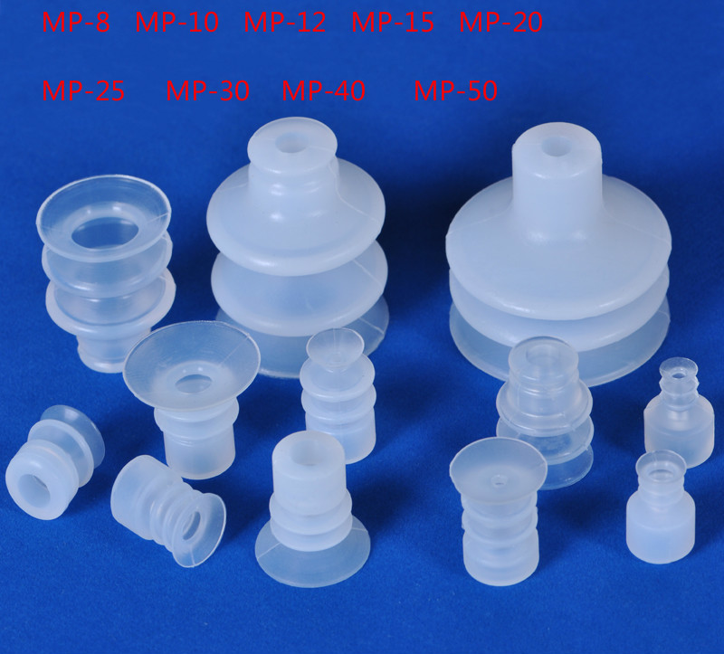 Vacuum sucker, large head, pneumatic, mechanical hand parts, industrial vacuum sucker, three layer MP silicone suction cup clear white water resistance vacuum equipment suction cup sucker