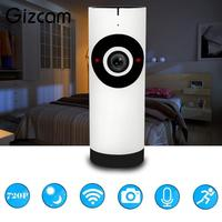 720P Wireless WIFI Network CCTV 180 Degree Fisheye Home Security IP Camera Night Vision Cam Webcam