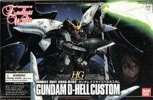 Bandai Gundam 1/144 GUNDAM DEATHSCYTHE HÖLLE CUSTOM Mobile Anzug Montieren Modell Kits Action figuren Kunststoff Modell Spielzeug