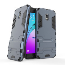 цена на 2 In 1 Hybrid Tank Armor Case Shockproof Hard Cover For Samsung Galaxy J3 Emerge 2018/Express Prime 3/Amp Prime 3/Sol 3/J3 2018