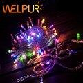 20 m 9 cores AC110/220 V pisca led 200 leds casamento festa natal natal decoração da árvore de luzes, conduziu a luz de natal