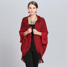 Новое поступление зима теплый шарф для женщин/дамы Модное пончо Твердые шаль и Обертывания Длинные Tasse высокое качество