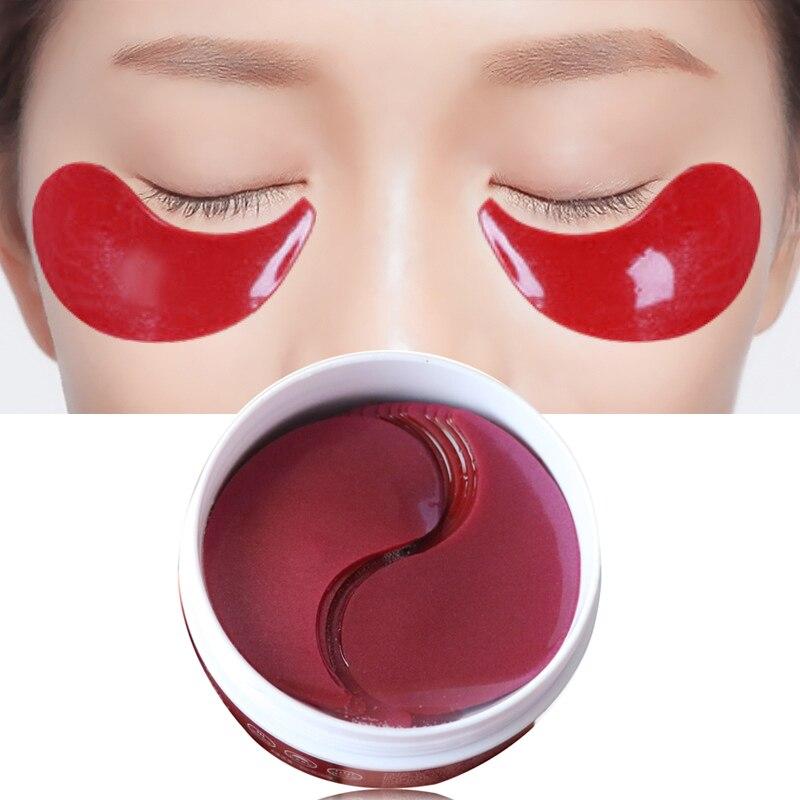 EFERO Anti Rugas Colágeno Gel Máscara de Olho Olhos Manchas Rosto Cuidados Pads Sacos Anti Olho Inchaço Olheiras Cuidados Com A Pele 60 pcs/bottle