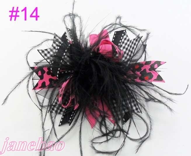 120 шт., модные изысканные банты для волос для девочек, популярные модные банты для волос