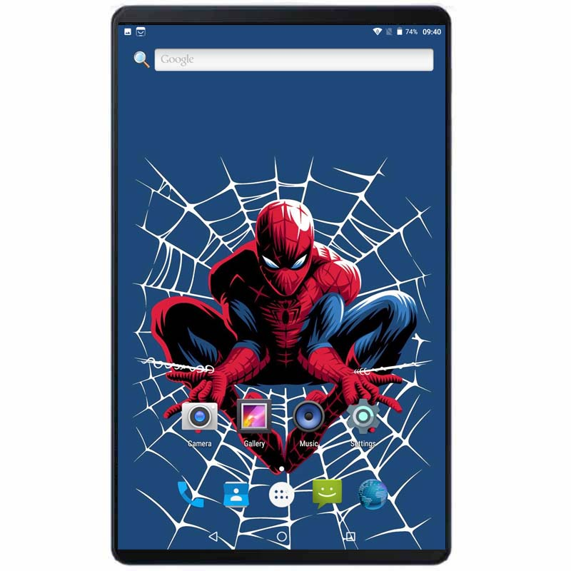 2019 Global Version Android 8.0 OS 10 Inch Tablet Octa Core 4GB RAM 64GB ROM 6000mAh Power 1280*800 Dual SIM Cards Tablets 10.1