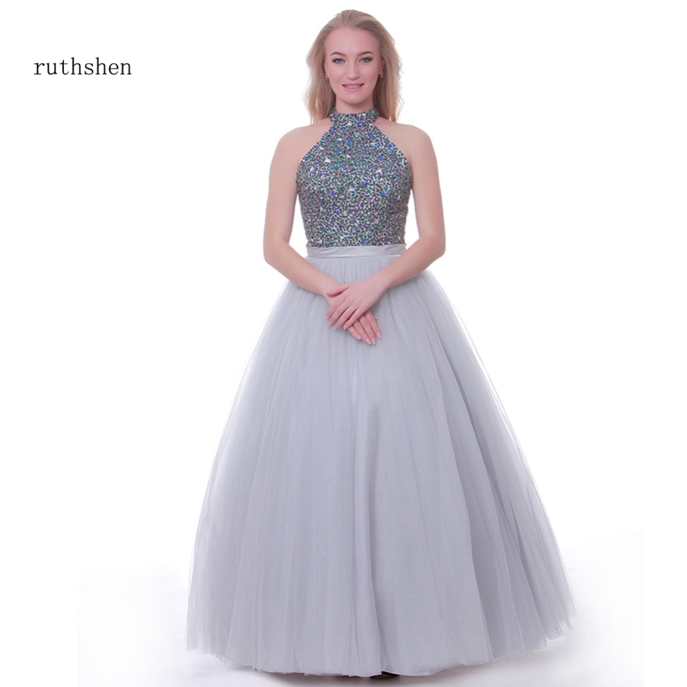 ruthshen Vestido   Prom     Dresses   2019 Helter Glitter Sparkle Bling Sequins   Dresses   Night Club 1920s Long Evening   Dresses   Party New