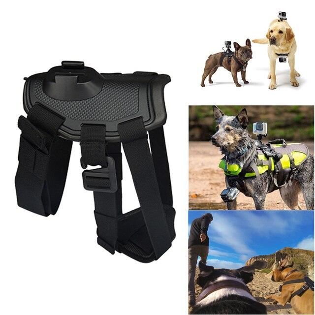 Собаки Жгут Нагрудный Плеча Ремень Гора Действий Камеры Универсальный Регулируемый Спортивные Аксессуары Для GoPro Hero 5 4 3 SJ4000