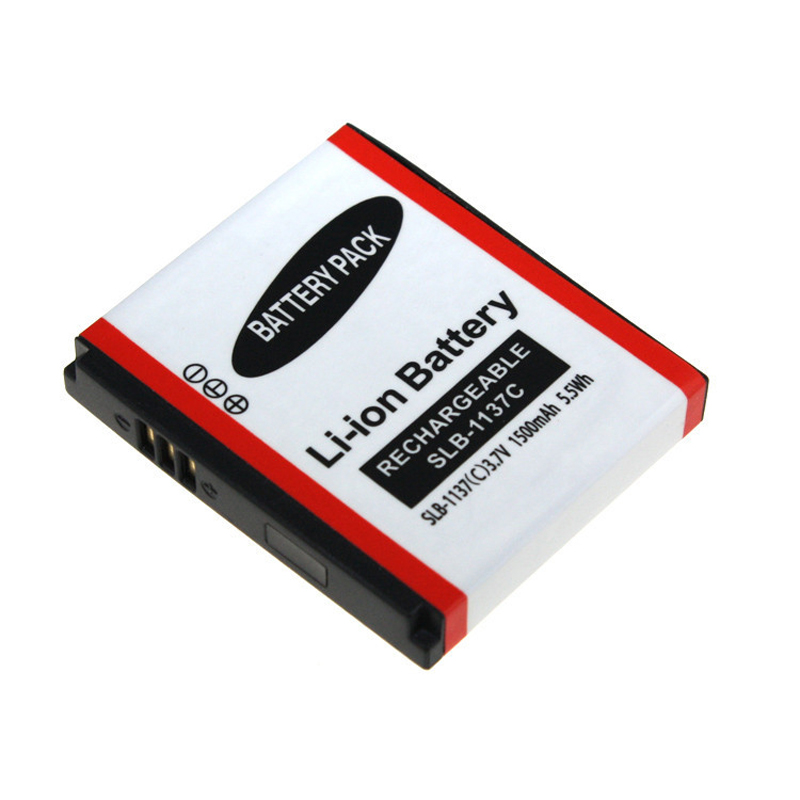 Digital Boy Batteries 3.7v 1500mAh SLB-1137C SLB 1137C SLB1137C Li-ion Rechargeable Camera Battery For Samsung Digimax i7