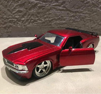 1 32 Alloy Pull Back Cars High Simulation Ford Mustang Boss 428 Metal Model Gift Collection