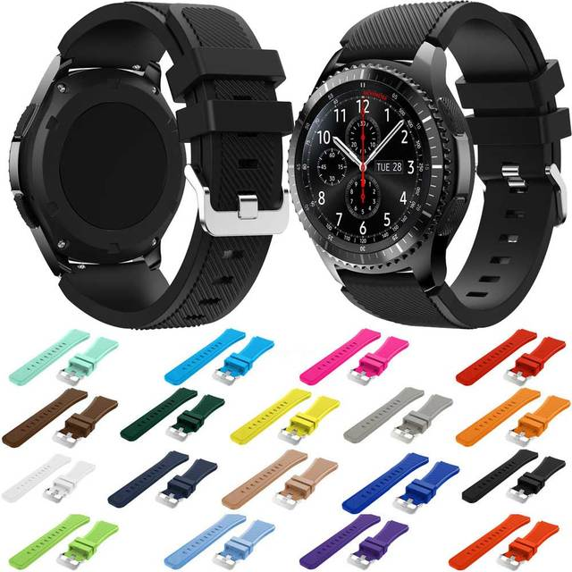 Brand Sport Silicone Strap for Samsung Gear S3 S 3 Frontier/Classic band bracele