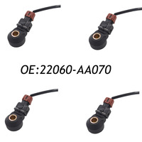 4PCS Knock Sensor For Subaru WRX Forester Liberty Outback 22060 AA070 5S2294