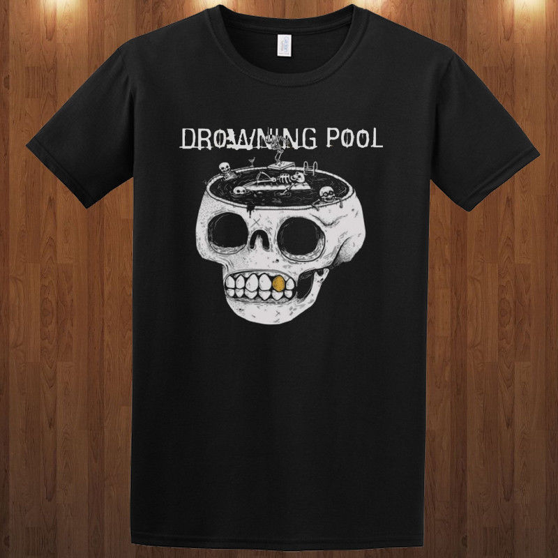 Drowning Pool T-shirt hard rock band Jasen Moreno S M L XL 2XL 3XL tee Soil image