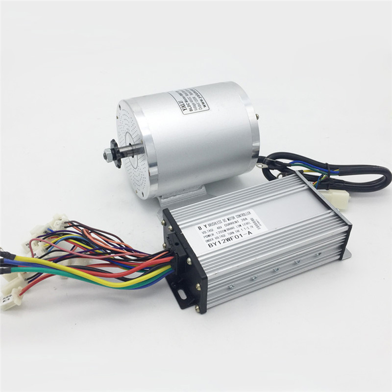 BM1109 48V 1500W MY1020 upgraded brushless motor Bike motor Electric ATV electric bicycle electric motorcycle modified