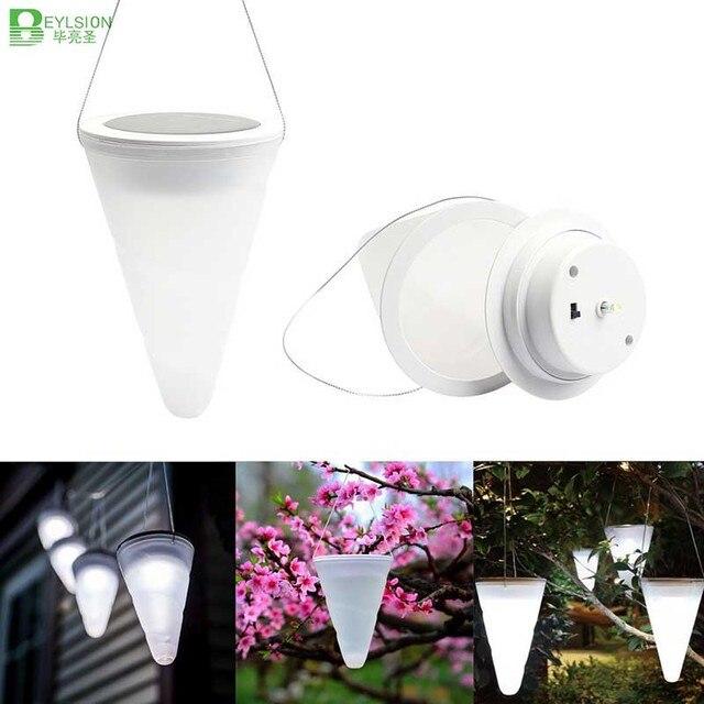 1X Moderne Solaire Alimenté Jardin Décoration D\'intérieur Lampe LED ...
