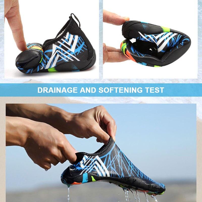 Männer Frauen Strand Schuhe Outdoor Schwimmen Wasser Schuhe Unisex Flache Weiche Meer Walking Yoga Schuh B2Cshop
